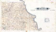 Brockway Township, Mississippi River, Opole, Stearns County 1896 published by C.M. Foote & Co